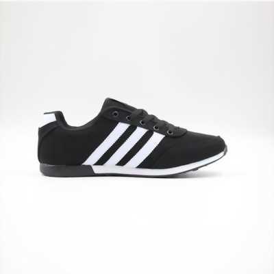 Giày đen trắng