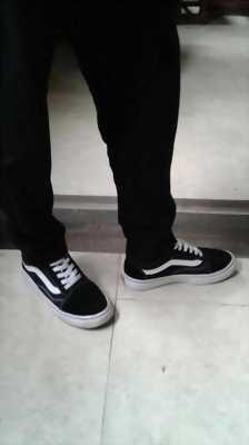 Giày vans old skool màu đen cổ điển