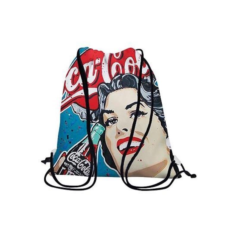 Túi vải bố in hình Coca Cola