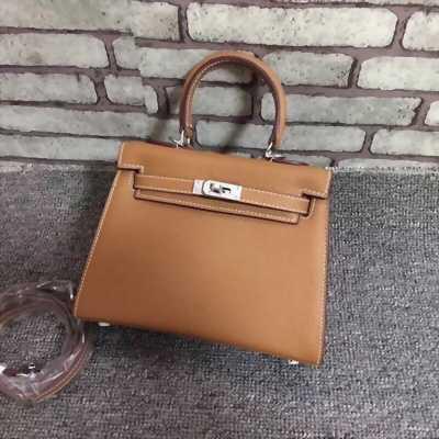 Túi xách da mini nữ đeo vai màu nâu bò TN0002 - Mẫu mới xịn hot