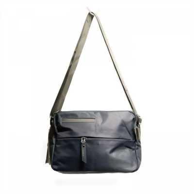 Túi đeo chéo nam Hosuai kiểu ngang màu xanh xám TDC0028
