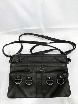 Túi đeo nữ nhiều ngăn màu đen thời trang TX0003