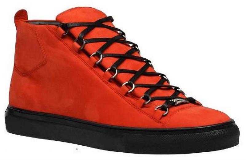 Giày Balenciaga Arena Suede Orange cho cả nam và nữ