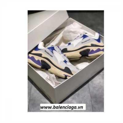 Giày Balenciaga Triple S blue/purple cho nam nữ