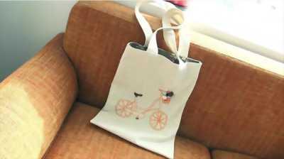 Túi vải bố quà tặng handmade độc đáo