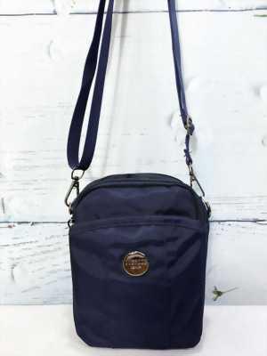 Túi đeo chéo mini màu xanh navy thời trang TDC0015