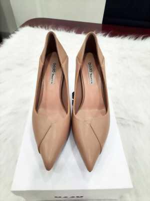 Giày cao gót 5 cm bít mũi kiểu đắp chéo Mã 713-01