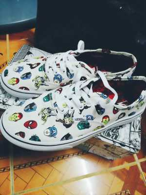 Giày vans×marvel real