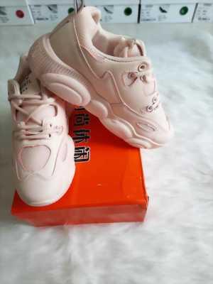Giày sneaker nữ màu hồng cam Fashion Mã 6620-H