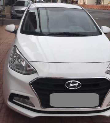 Bán Hyundai I10 số sàn 1,2 màu trắng 2018 xe gia đình đi kỹ