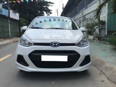 Bán Hyundai I10 bảng 1.2 màu Trắng 2018 số sàn Hatback như mới.
