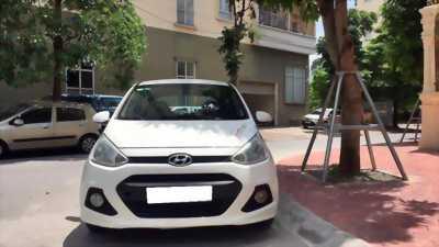 Gia đình cần bán xe i10 trắng Ngọc Trinh, nhập khẩu Ấn Độ
