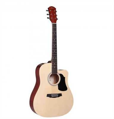 Guitar acoustic+bao da+píc gẩy+capo+dây đàn