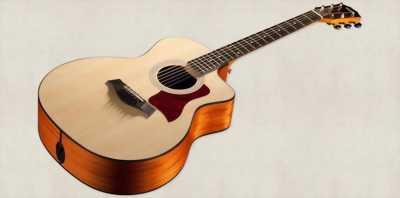 Guitar Acoustic QO140. Gỗ hồng đào full phụ kiện