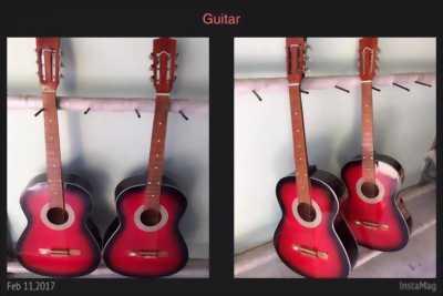 Đàn guitar giá rẻ, âm chuẩn action thấp cho người mới