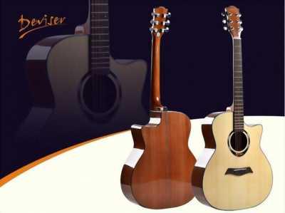 Đàn guitar acoustic Deviser dáng A V2-TF772  chính hãng