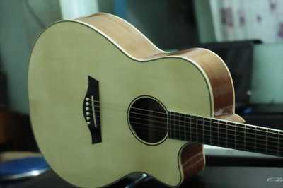 Đàn guitar acoustic sinh viên màu sáng V1-UH664  giá rẻ