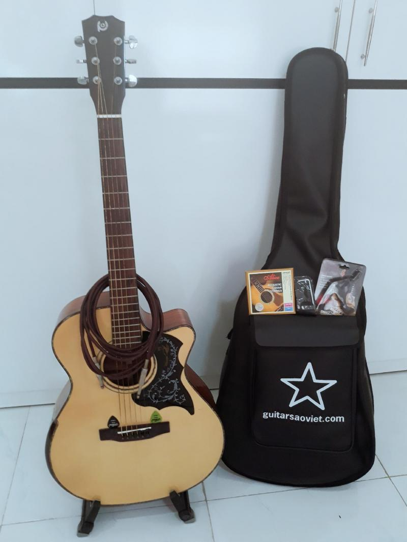 Guitar Acoustic - Gỗ Điệp 99% ( Đã Qua Sử Dụng )