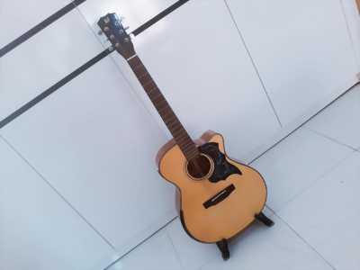 Guitar Acoustic Gỗ Điệp D-V2SV Mới 99%