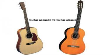 Đàn guitar acoustic và classic khác nhau như thế nào