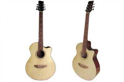 Guitar classic Hồng đào sơn nhám