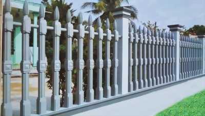 Hàng rào bê tông ly tâm- Sự lựa chọn tinh tế cho ngôi nhà của bạn