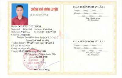 Học chứng chỉ an toàn lao động tại Nha Trang