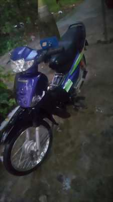 Wave zx 50cc màu tím đen
