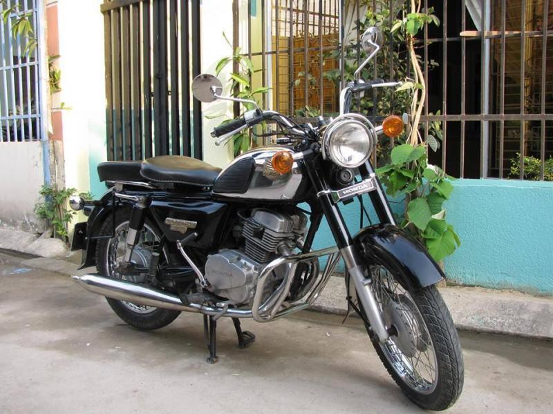 HonDa CD 125 Benly Nhập Khẩu CamPuChia