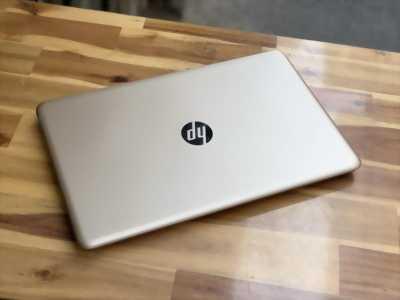 Laptop Hp 15 au118tu, Core I3 7100U 4G 500G Màu Gold Đẹp keng zin 100% Giá rẻ