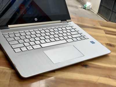 Laptop Hp Pavilion X360 14m-ba1xx, Core i5 8250U 8G SSD128G Cảm ứng xoay 360 độ Full HD Màu Gold giá rẻ