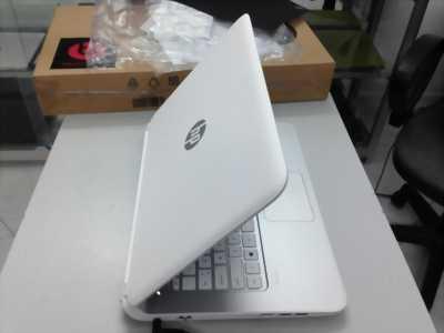 Laptop HP màu trắng Core i5 HDD 500g pin 2h lengke