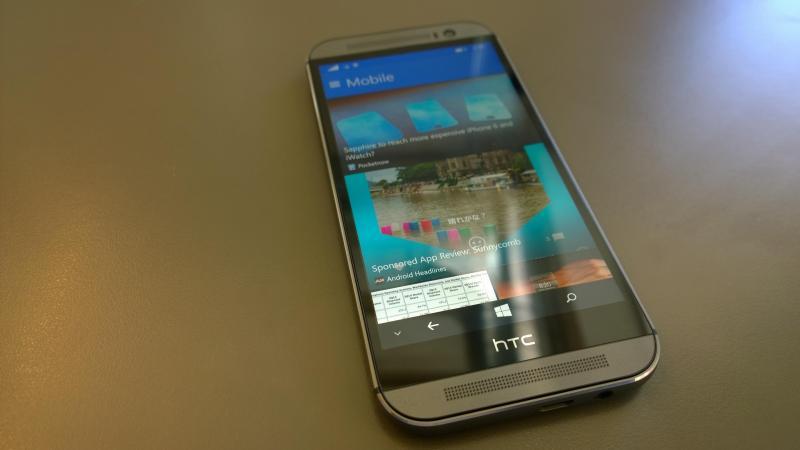 HTC One M8 xám