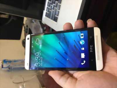 HTC One M7 Qte 32gb cấn nhẹ rìa màn hình chơi game