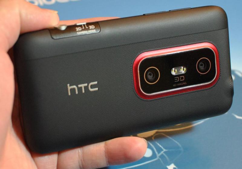 Bán HTC EVO 3d hàng hiếm xem 3d không cần kính