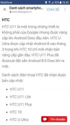 Bán 1 HTC U Ultra màu trắng mới 100%