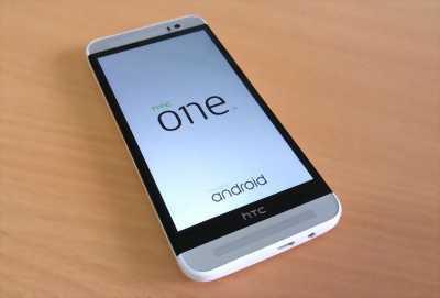 HTC One_E8, trắng, hoạt động tốt, mua ở Điện Máy