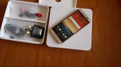 HTC One M9 99%, sạc QUICK CHARGE 2.0, bộ nhớ 32GB