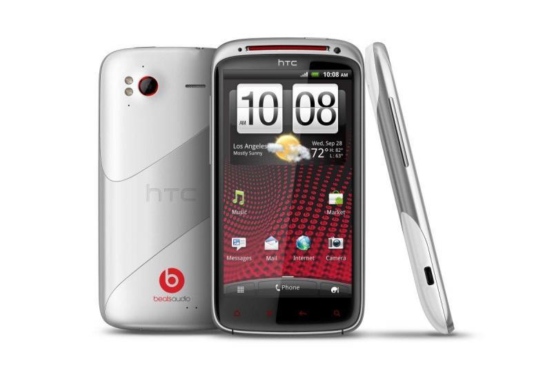 HTC Sensation XE beataudio, bật chỉ rung, ko lên