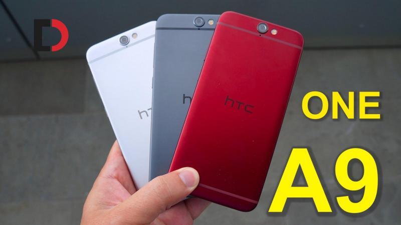 HTC A9 vân tay