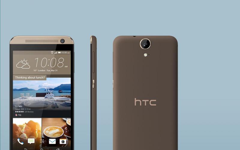 Xác điện thoại HTC E9 treo logo