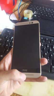 HTC m9 bạc viền gold 99,9/100 full zin