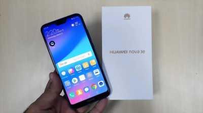 Huawei nova 3e Đen bóng - Jet black 64 GB