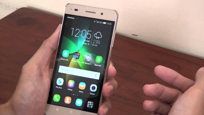 Giá chữa cháy, điện thoại Huawei gplay mini.