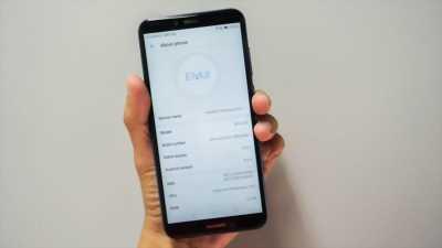Huawei Y6 Prime xanh dương. Có bán trả góp