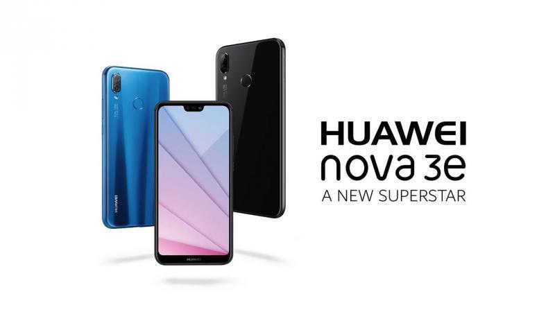 Huawei Nova 3e đen bóng Quận 12