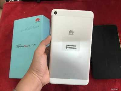Huawei T1-701u bạc mới 99% Ram 1GB,pin lâu,1sim,3G