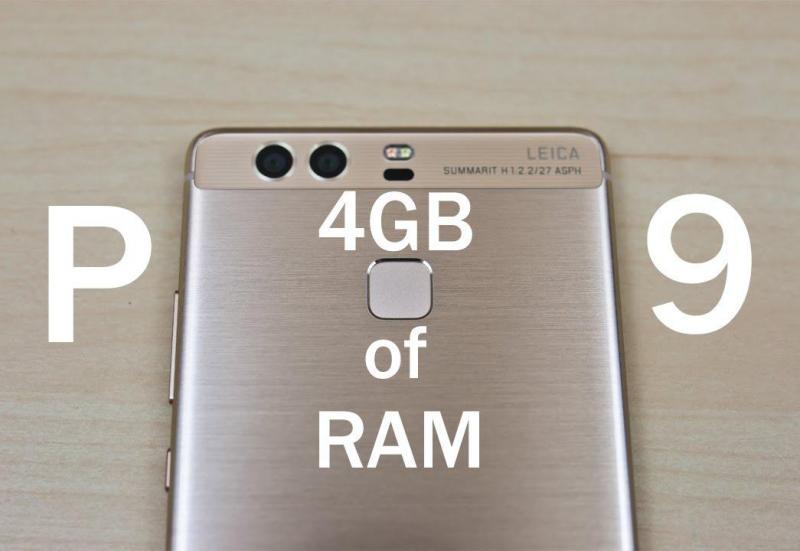 Huawei p9 4gb ram