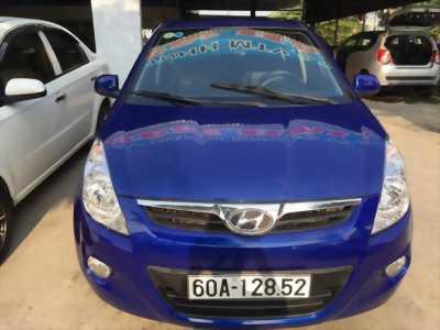 Bán xe Hyundai i20 SX đời 2009, màu xanh lam, nhập khẩu chính hãng