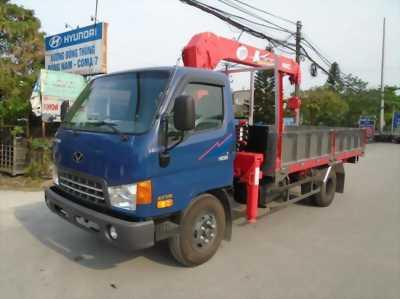 Xe tải cẩu Hyundai HD99 5,4 Tấn giá rẻ giao ngay